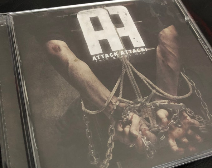 Attack Attack This Means War CD Metalcore Of Mice and Men Asking Alexandria As I Lay Dying We Came As Romans Bring Me The Horizon Alesana