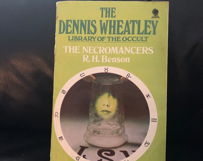 Vintage 1974 The Necromancers Softcover Book Witch Occult Tarot Witches Witchy Salem Goth Gothic Sorcerer Hex Pagan Halloween Witchcraft