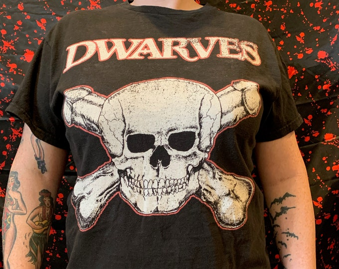DWARVES Band Shirt Punk Rock (M) The Mentors Supersuckers Screeching Weasel The Vandals Guttermouth Lagwagon Dead Kennedys New Bomb Turks