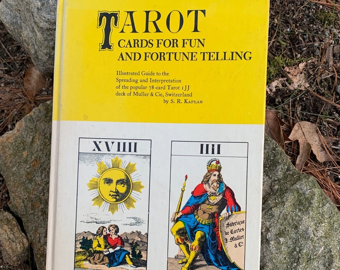 Vintage 1971 Tarot Hardcover Book Witch Horror Occult Palm Reading Psychic Gypsy Crystal Ball Tarot Cards Tarot Reading Gypsy Zoltar Diablo