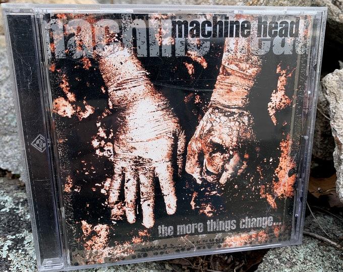 Machine Head The More Things Change CD Heavy Metal  Robb Flynn Metalcore Sepultura Metalhead Trivium Arch Enemy Dragonforce As I Lay Dying