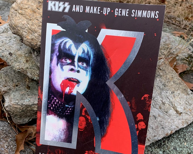 KISS and Make Up Gene Simmons Softcover Book Kissband Kiss Army Kisstory Paul Stanley Peter Criss Ace Frehley Love Gun Shannon Tweed Cher