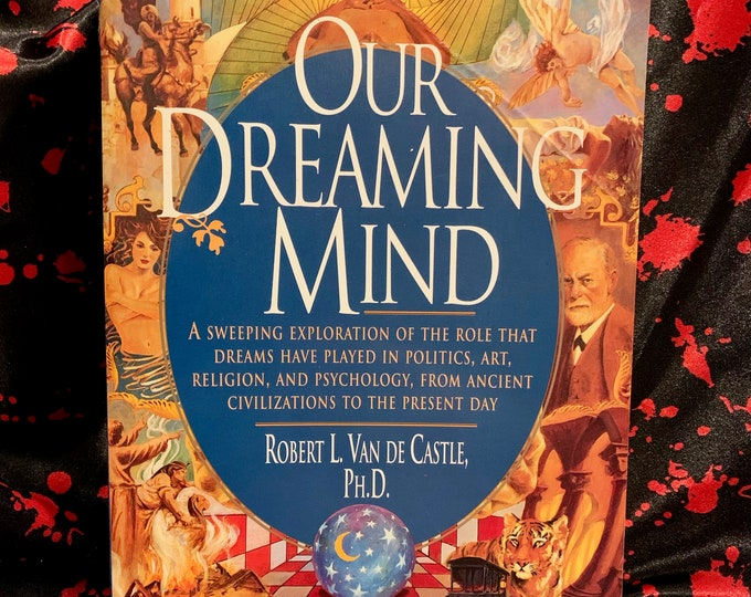 Vintage 1994 Our Dreaming Mind Softcover Book Politics Dreams Art Religion Psychology Theory Studies Sigmund Freud Carl Jung Psychologist