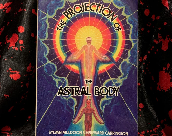 Vintage Astral Projection 1992 Psychic Softcover Book Astrology Clarvoyant Spiritual Healing Palmistry Fortune Teller Stars Afterlife Ghosts