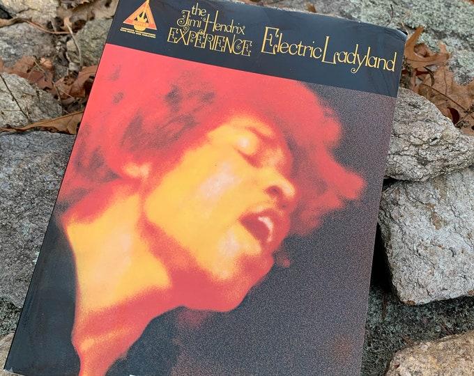 Jimi Hendrix 1989 Hal Leonard Electric Ladyland Softcover Book Sheet Music Guitar Tab Guitar Player Guitarist Janis Joplin Jim Morrison Band