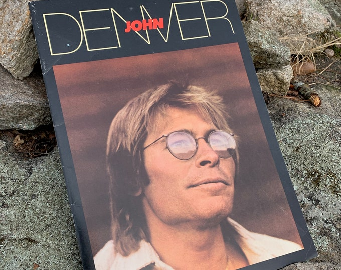 John Denver 1980 Tour Book Program Folk Music Jim Croce Gordon Lightfoot James Taylor Anne Murray Glen Campbell Harry Chapin Dan Fogelberg