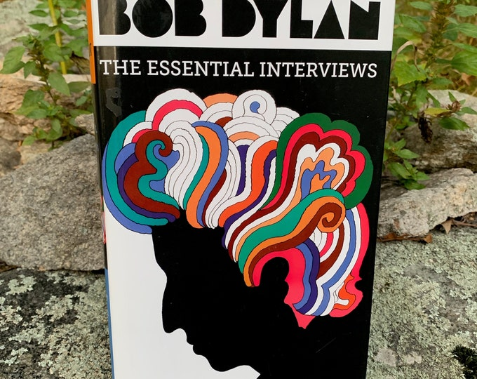Bob Dylan Hardcover Book 2017 The Essential Interviews Folk Music Johnny Cash Neil Young Van Morrison  Blood On The Tracks Rolling Stone