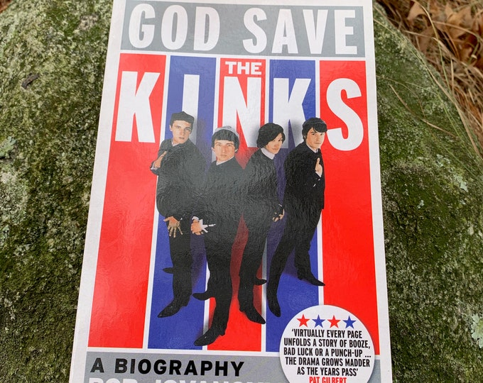 Vintage The Kinks Softcover Book 2013 Rock N Roll Ray Davies Dave Davies The Beatles The Rolling Stones The Who Jeff Beck Free The Troggs UK