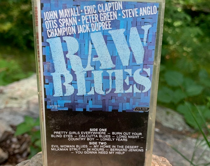 John Mayall Eric Clapton Raw Blues Cassette Tape Johnny Winter Bob Seger Creedence Clearwater Revival Bruce Springsteen Pete Townshend Blues