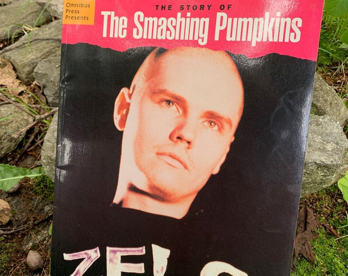 Vintage 1996 The Smashing Pumpkins Softcover Book Punk Punkrock Billy Corgan James Iha Sonic Youth  Weezer Janes Addiction A Perfect Circle