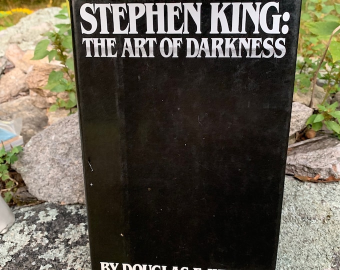 Vintage 1984 The Art Of Darkness Stephen King Pet Sematary Horror Witchcraft Gothic Mystery The Shining Dead Zone Dolores Claiborne The Mist