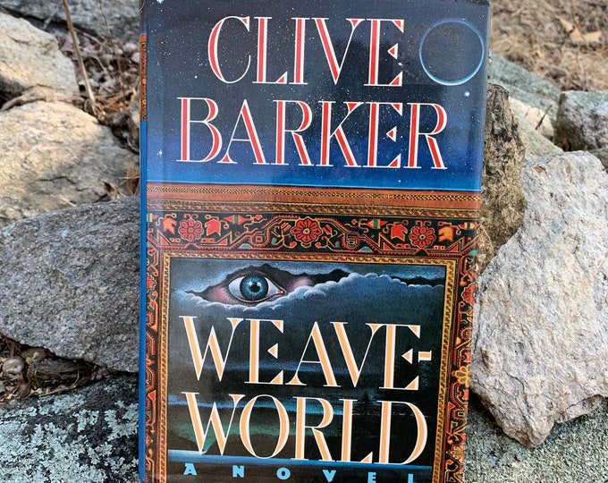 Clive Barker Weave World Hardcover Book 1987 Occult Novel Ritual Witch Witchcraft Michael Myers Hellraiser Serial Killers Wes Craven Terror