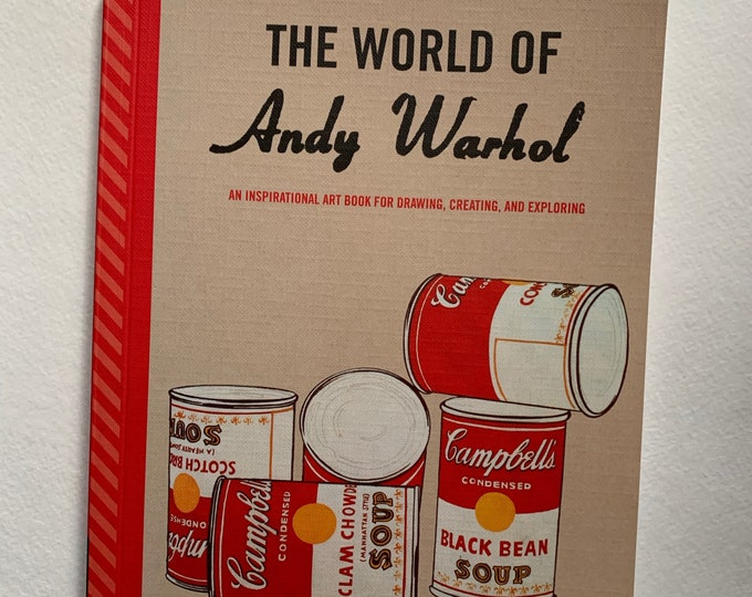 The World of Andy Warhol Softcover Book Velvet Underground Lou Reed Edie Sedgwick Allen Ginsberg John Cale Jim Morrison David Bowie Nico