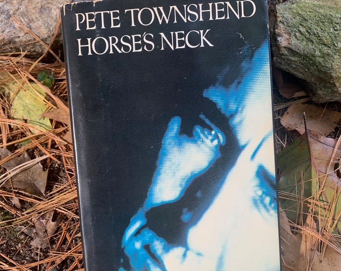 Vintage Pete Townshend  Horses Neck Hardcover Book 1985 Short Stories The Who The Beatles The Rolling Stones Jeff Beck Free Infidelity Life