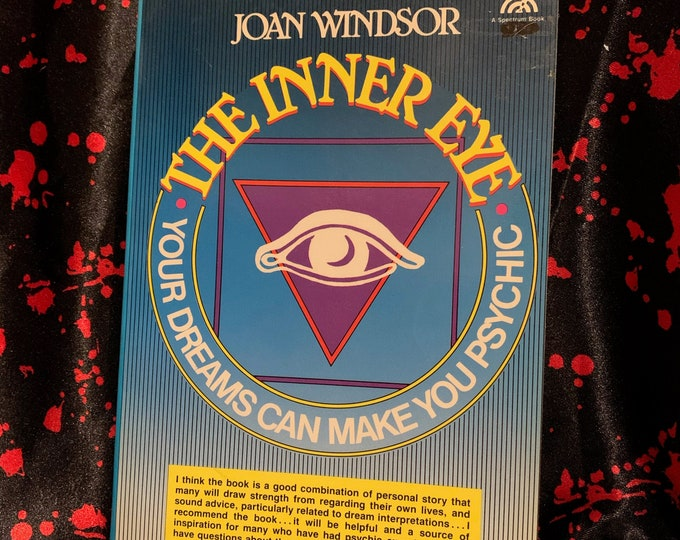 Vintage 1985 Psychic Power Softcover Book Astrology Clarvoyant Spiritual Healing Palmistry Fortune Teller Stars Witchcraft Afterlife Ghosts