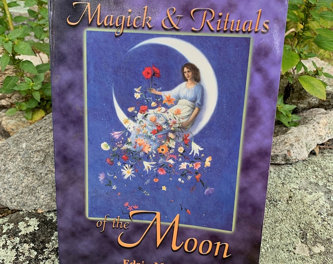 Magick & Rituals of the Moon Spells Astrology 2001 Softcover Book Witchy Astrologist Astrology Psychic Horoscope Witchcraft Luna Crystals