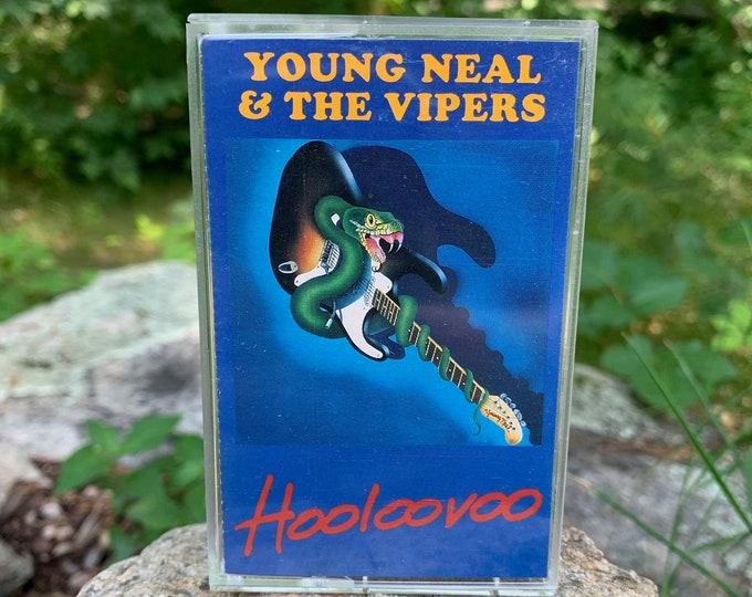 Young Neal & The Vipers Hooloovoo Cassette Tape John Cafferty Rhode Island B B King Roy Buchanan John Lee Hooker Bonnie Raitt Albert Collins