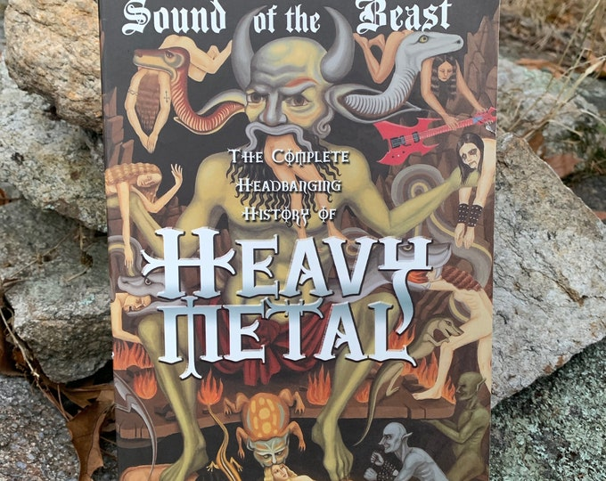 Sound of the Beast: The Complete Headbanging History of Heavy Metal Softcover Book Heavy Megadeth Anthrax Metallica Ozzy Osbourne Slayer