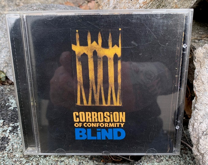 Corrosion Of Conformity Blind CD Heavy Metal Metalcore Sepultura Metalhead Trivium Arch Enemy Dragonforce As I Lay Dying Machine Head Kyuss