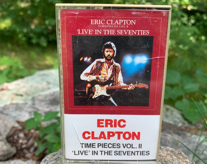 Eric Clapton Time Pieces Vol 2 Cassette Tape Johnny Winter Bob Seger Creedence Clearwater Revival Bruce Springsteen Pete Townshend Otis Rush
