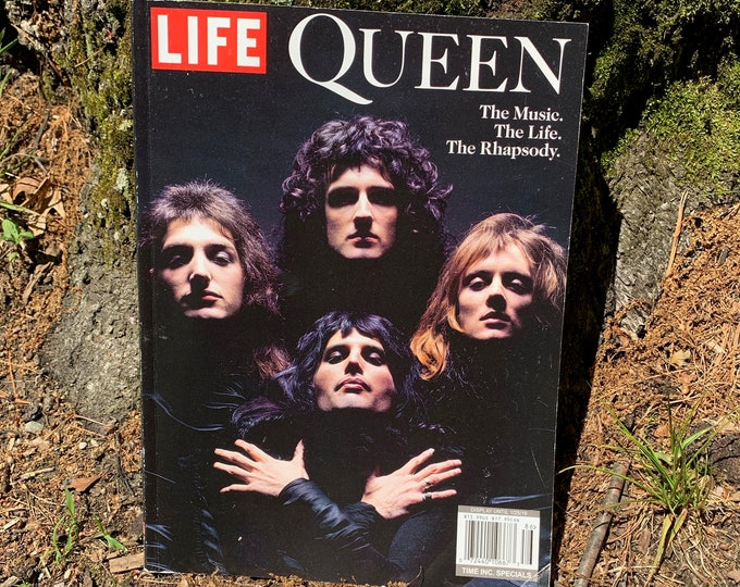Life Magazine Queen Special Edition We Will Rock You Freddie Mercury Bohemian Rhapsody Roger Taylor John Deacon Brian May David Bowie Jazz