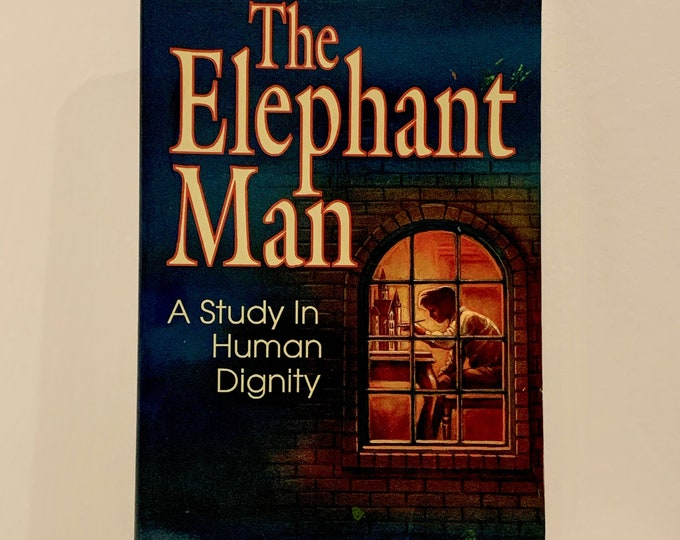 The Elephant Man A Study In Human Dignity Joseph Merrick Softcover Book Oddities David Lynch Freaks Freakshow Horror Science Sideshow Circus