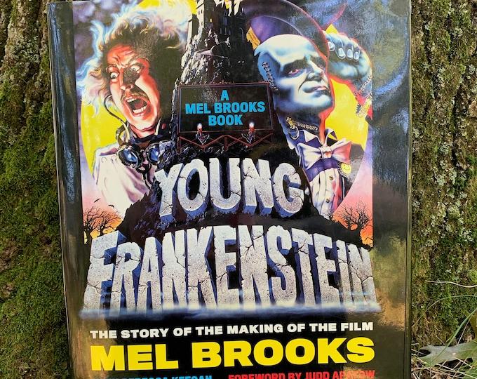 Young Frankenstein Hardcover Book Mel Brooks Gene Wilder Marty Feldman Madeline Kahn Boris Karloff Comedy Horror Monsters Goth Bela Lugosi