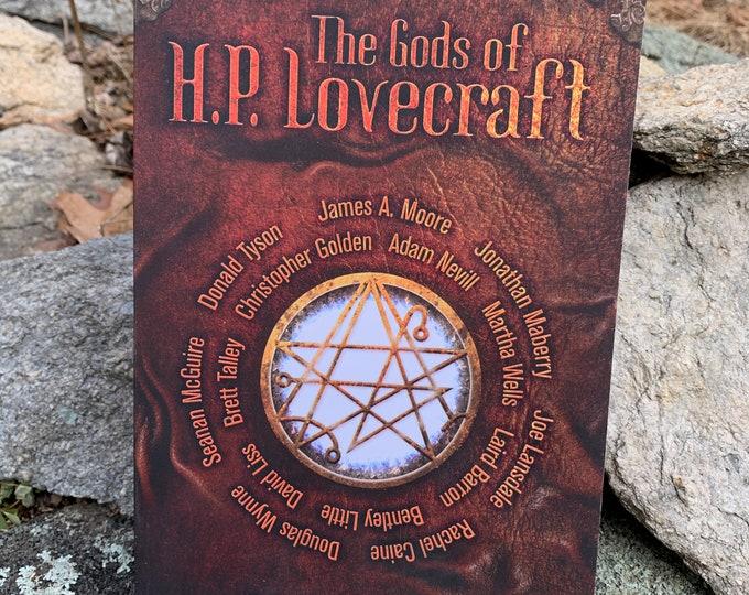 The Gods Of HP Lovecraft Softcover Book  Edgar Allan Poe Stephen King Cthulhu Terror Adam Nevill Martha Wells Joe Lansdale Brett Talley