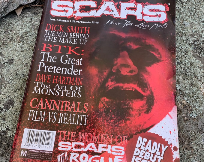 Scars Monsters Magazine Debut Issue 2006 Horror FX BTK Serial Killers Gore Slasher Hostel The Exorcist Witchcraft Satanic Halloween Monsters