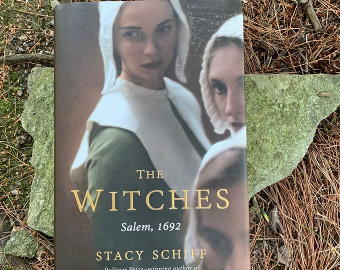 The Witches Salem Witch Trials Hardcover Book Wiccan Witch Witchcraft Coven Occult Salem Massachusetts Witchhunt History Tarot The Crucible