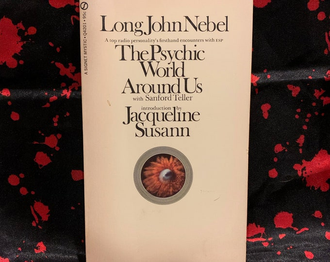 Vintage 1970 The Psychic World Around Us Softcover Book Astrology Clarvoyant Spiritual Healing Palmistry Fortune Teller Stars Witchcraft