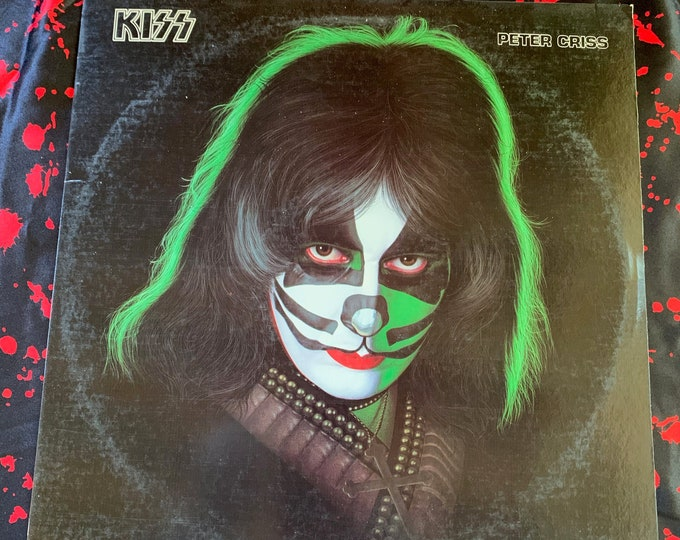 Vintage 1978 Peter Criss Solo Album 33 rpm VINYL Album Gene Simmons Paul Stanley Ace Frehley Includes ALL the Inserts and Goodies Eric Carr