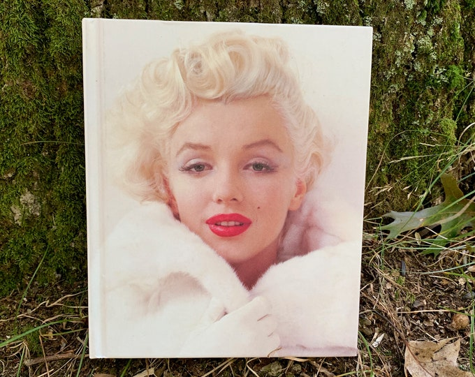 Vintage Milton's Marilyn Monroe Hardcover Book  1998 - Movies Goodbye Norma Jean Pinup Jayne Mansfield Marlene Dietrich Blonde Photography