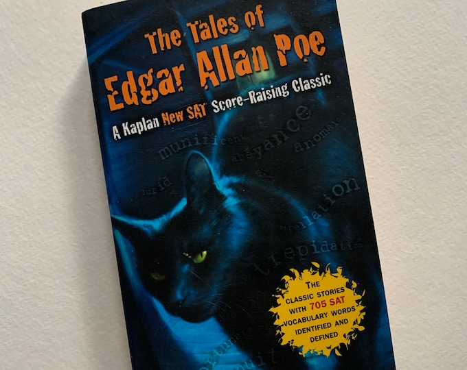 The Tales of Edgar Allan Poe Mysteries Paperback Book Vincent Price Gothic Goth Poet Writer Novel Horror The Black Cat Witch Wes Craven