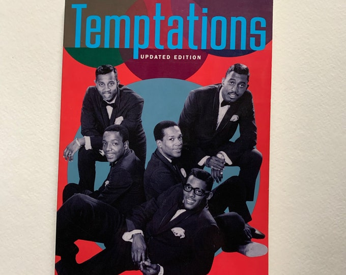 The Temptations Softcover Book David Ruffin Eddie Kendricks The Supremes Motown Diana Ross Berry Gordy Stevie Wonder Marvin Gaye Etta James
