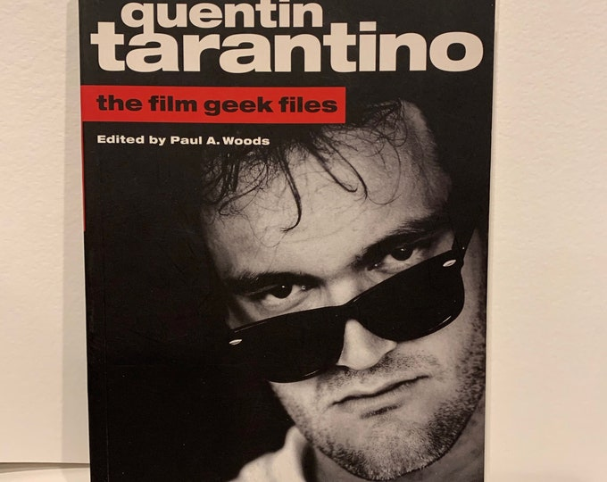Vintage 2006 Quentin Tarantino Softcover Book Michael Madsen Steve Buscemi Harvey Keitel Pulp Fiction Inglourious Basterds Reservoir Dogs
