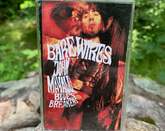 John Mayall Bare Wires Cassette Tape Johnny Winter Bob Seger Creedence Clearwater Revival Bruce Springsteen Pete Townshend Blues Peter Green