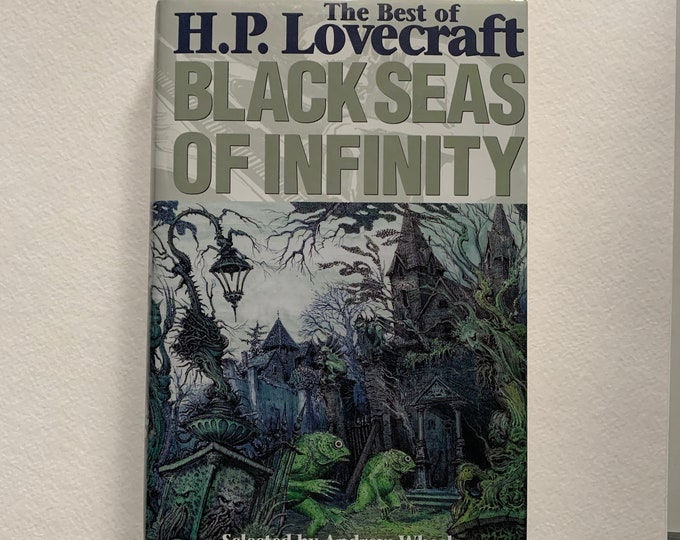 HP Lovecraft Hardcover Book I am Providence Horror Edgar Allan Poe Stephen King Horror Dagon Ghosts Monsters The Call of Cthulhu Terror