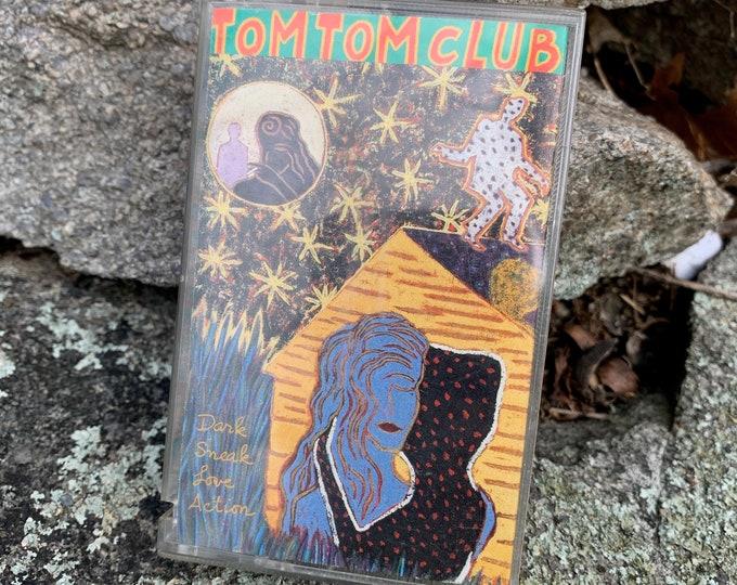 Vintage Tom Tom Club Cassette Tape New Wave Talking Heads Tina Weymouth Chris Frantz Devo Gary Numan B52s Thomas Dolby Modern Lovers XTC