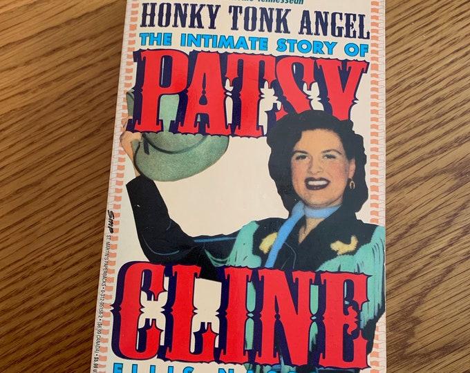 Vintage Patsy Cline Paperback Book 1993 KD Lang Country Music Kenny Rogers Jolene Bluegrass CMT Porter Wagoner Grammys Books Ferlin Husky