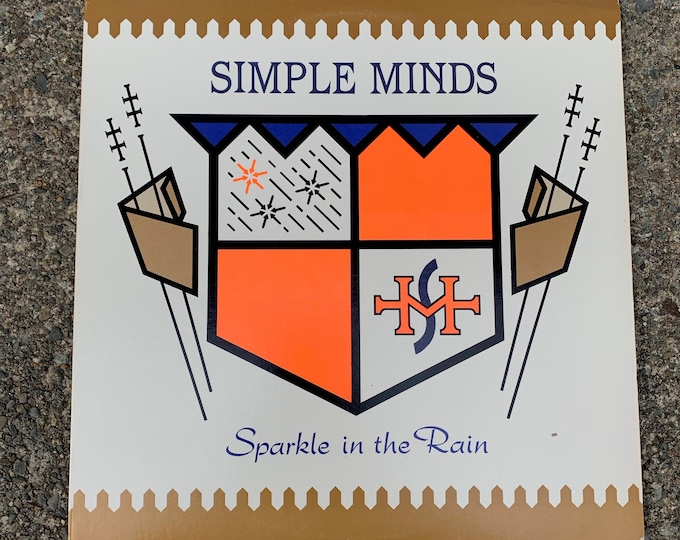 "Simple Minds 12"" LP Vinyl Simple Minds Jim Kerr Sparkle In The Rain Tears For Fears The Breakfast Club The Human League Thompson Twins INXS"