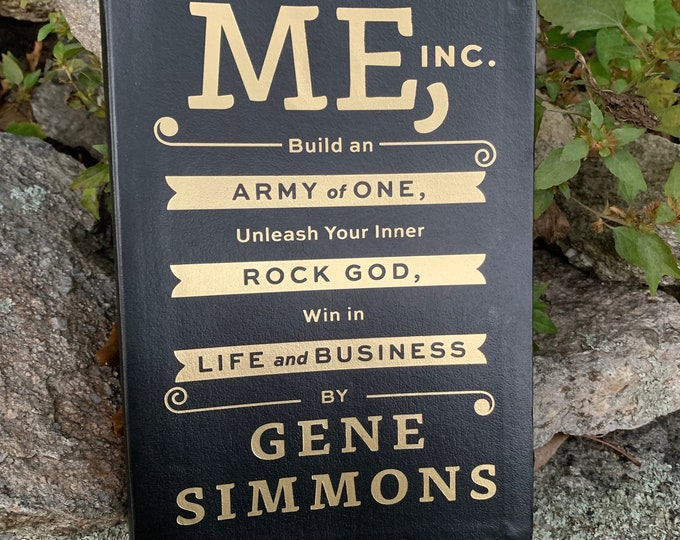 Gene Simmons ME Inc Softcover Book Kissband Kiss Army Kisstory John Varvatos Paul Stanley Peter Criss Ace Frehley Love Gun Entrepreneur