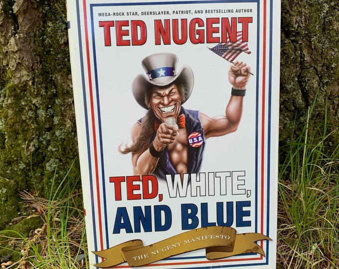 Ted Nugent Book Cat Scratch Fever Wango Tango Gibson Guitars Amboy Dukes Second Amendment United States Constitution Detroit Strap Assassin