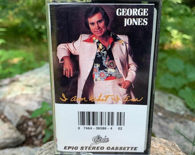 George Jones Am What I Am Cassette Tape Country Music Dolly Parton Kris Kristofferson Willie Nelson Waylon Jennings Johnny Cash Kenny Rogers