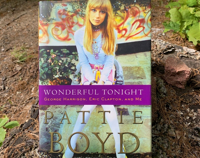 Wonderful Tonight: George Harrison, Eric Clapton, and Me  By Pattie Boyd Book Yardbirds Cream Slowhand Jimi Hendrix BB King Pete Townshend