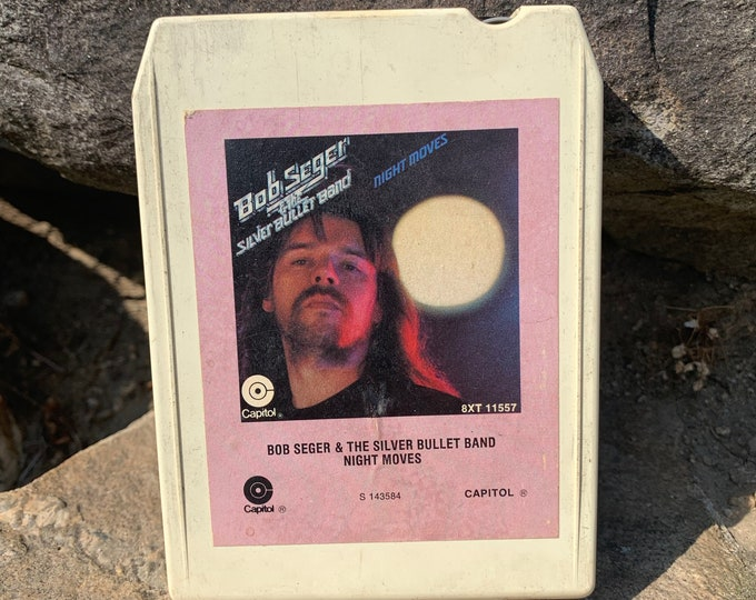 Bob Seger Night Moves 8 Track Tape Johnny Cash Neil Young Van Morrison John Mellencamp Traveling Wilburys Ted Nugent Lynyrd Skynyrd J Geils