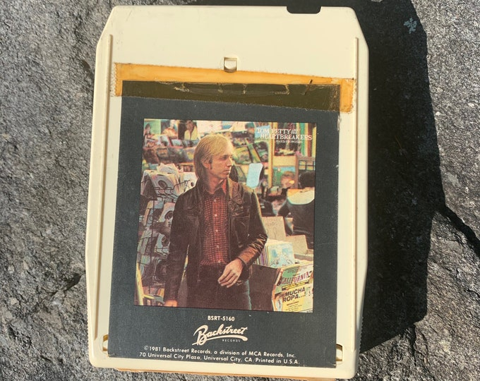 Tom Petty The Heartbreakers Hard Promises 8 Track Tape Johnny Cash Neil Young Van Morrison John Mellencamp Traveling Wilburys Mudcrutch