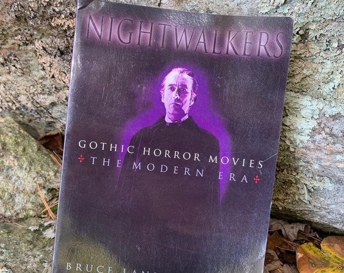Vintage Nightwalkers Softcover Book 1995 Horror Nosferatu Vampire Frankenstein The Mummy The Fly Boris Karloff Lon Chaney Bela Lugosi Goth