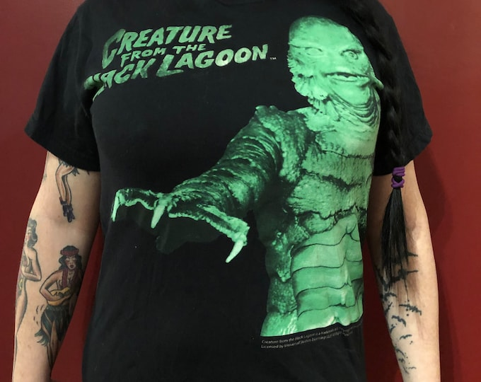 Creature From The Black Lagoon (S) Universal Monsters Frankenstein Dracula Wolfman The Mummy Horror Monsters Goth Gothic Creepy Bela Lugosi
