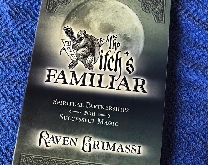The Witch's Familiar Softcover Book Wiccan Witch Psychic Pagan Magick Witchcraft Coven Spiritual Gothic Coven Spellbook Fairies Stevie Nicks